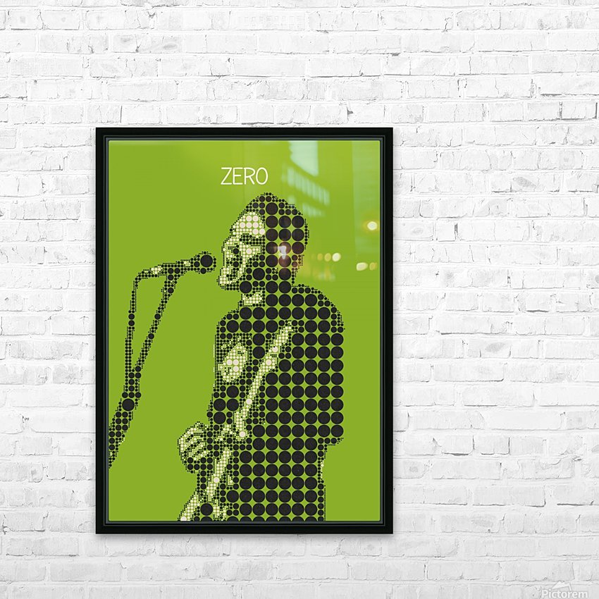 Zero   billy Corgan HD Sublimation Metal print with Decorating Float Frame (BOX)