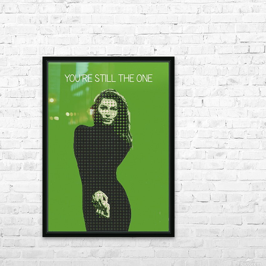 youre still the one   Shania Twain HD Sublimation Metal print with Decorating Float Frame (BOX)