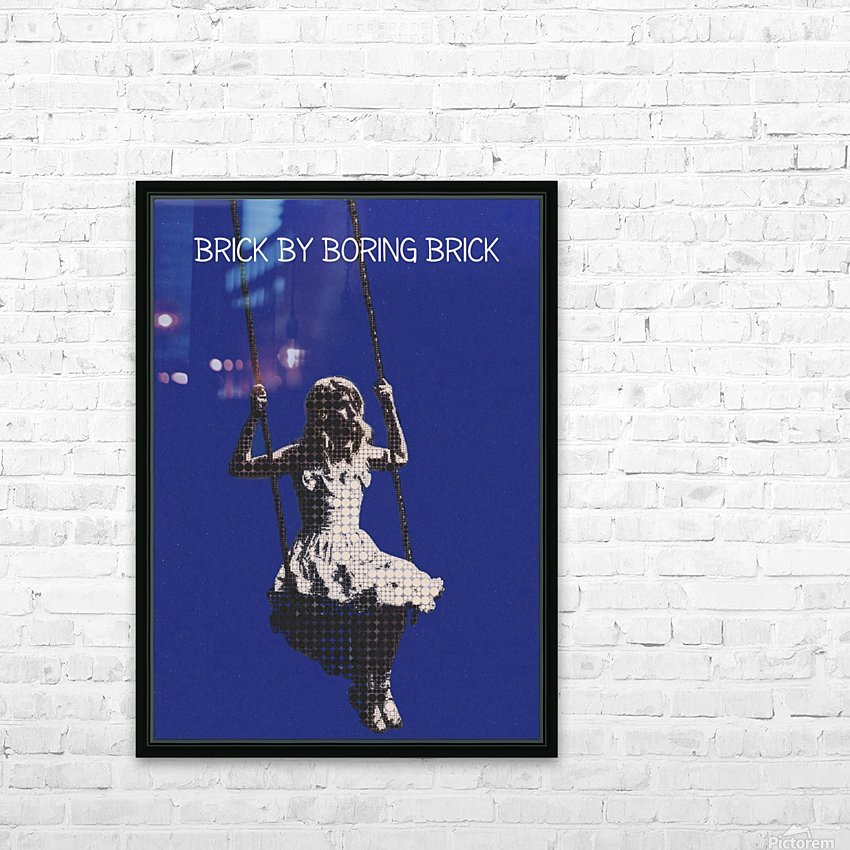 Brick By Boring Brick   Hayley Williams   Paramore HD Sublimation Metal print with Decorating Float Frame (BOX)