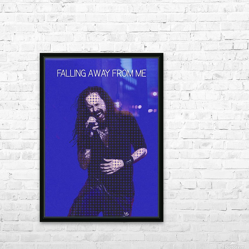 Falling Away from Me   Jonathan Davis   Korn HD Sublimation Metal print with Decorating Float Frame (BOX)