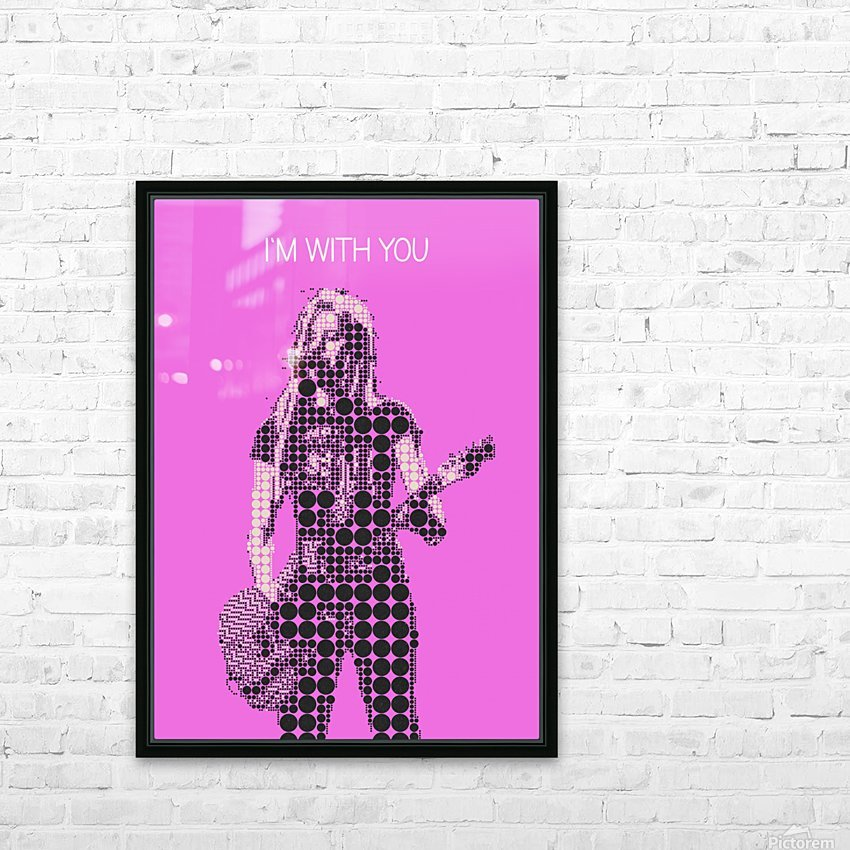 im with you   Avril Lavigne HD Sublimation Metal print with Decorating Float Frame (BOX)