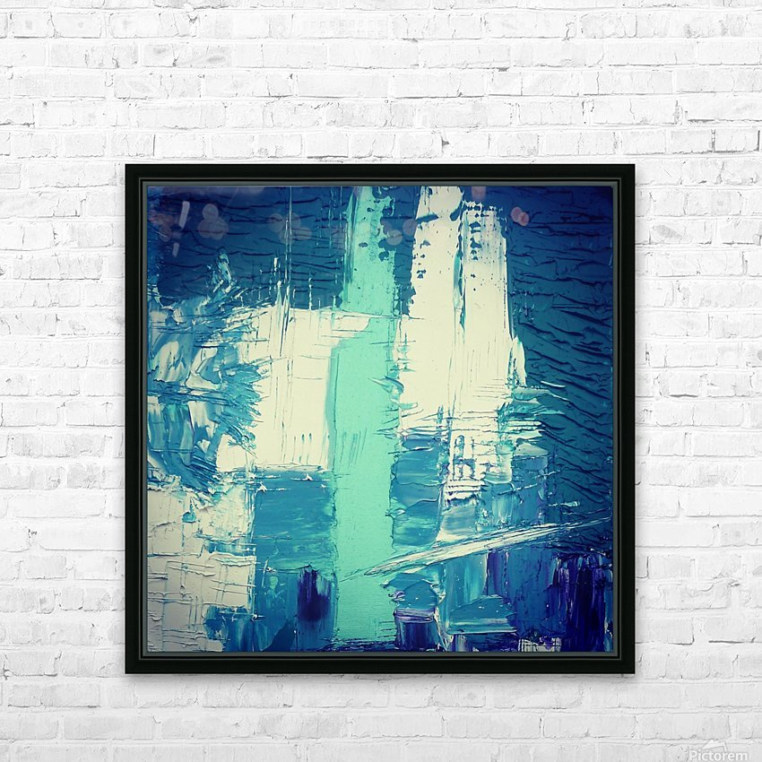 atlantis eternal HD Sublimation Metal print with Decorating Float Frame (BOX)