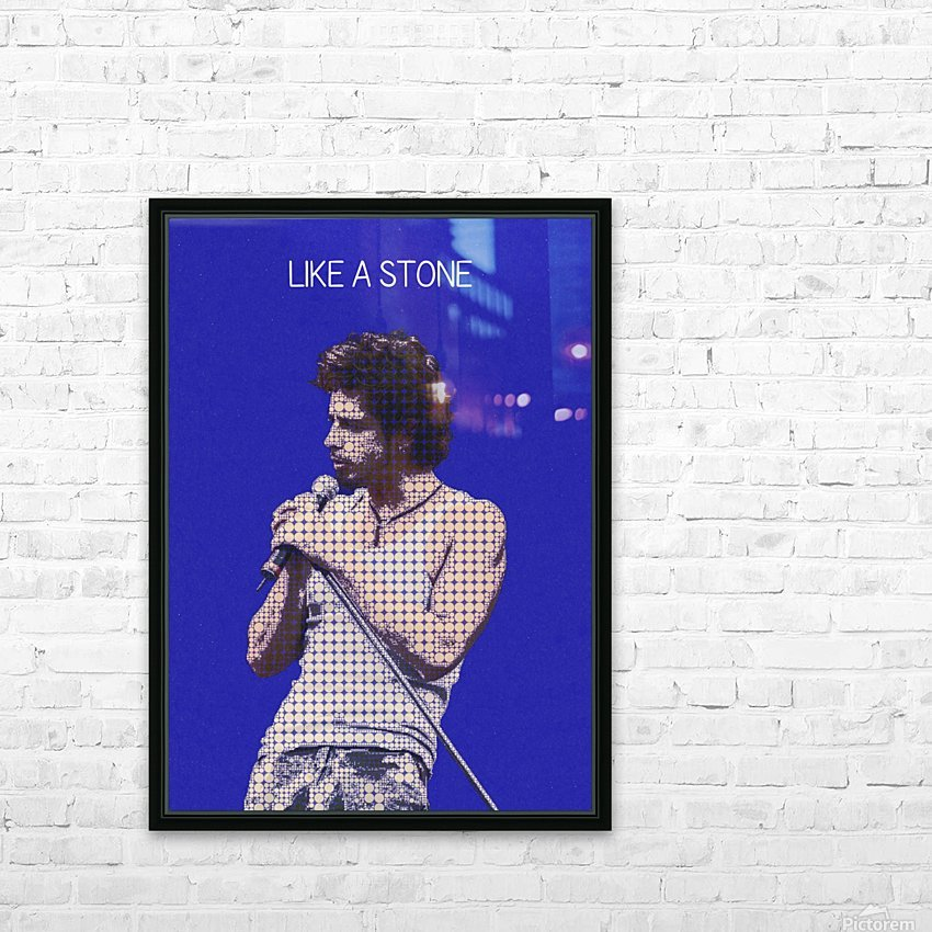 Like a Stone   Chris Cornell   Audioslave   HD Sublimation Metal print with Decorating Float Frame (BOX)