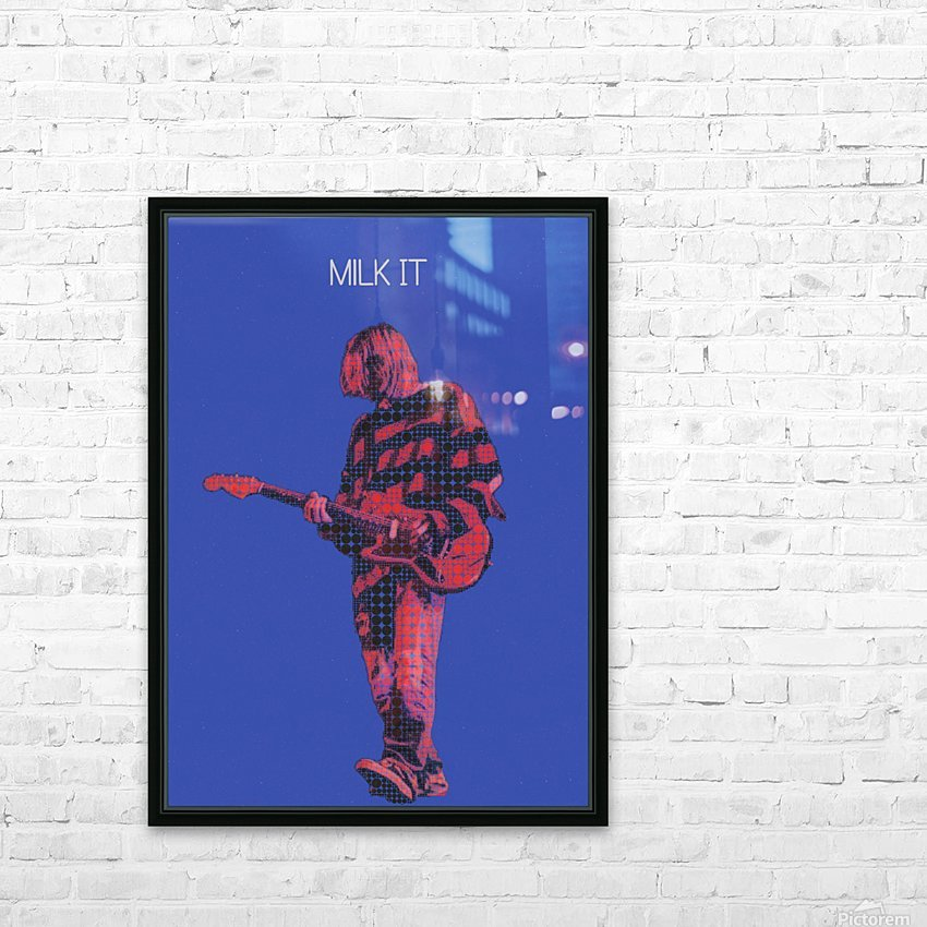 Milk It   Kurt Cobain   Nirvana Live in Chicago October 23 1993 HD Sublimation Metal print with Decorating Float Frame (BOX)