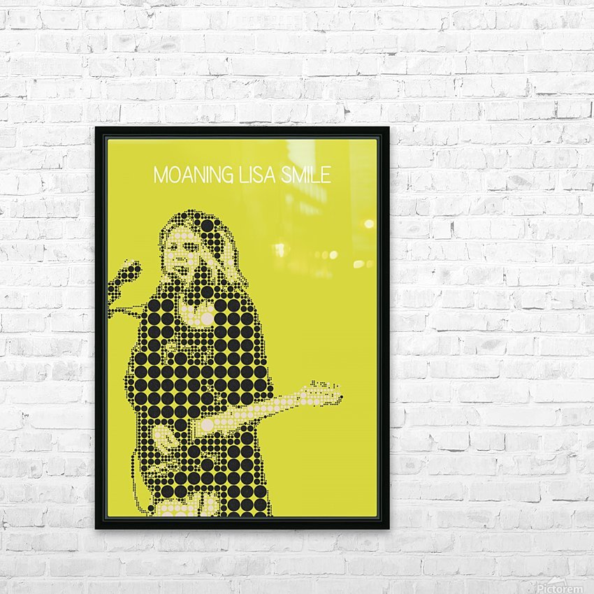 Moaning Lisa Smile   Wolf Alice HD Sublimation Metal print with Decorating Float Frame (BOX)