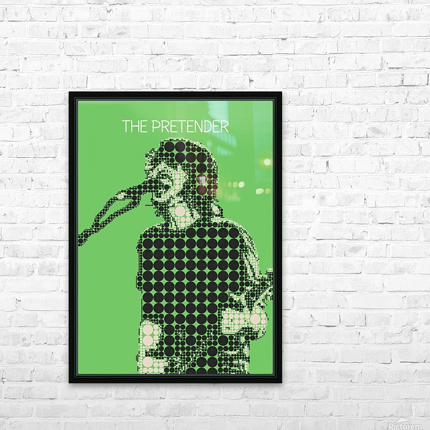 The Pretender   Dave Grohl HD Sublimation Metal print with Decorating Float Frame (BOX)