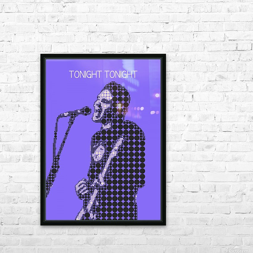 tonight tonight   billy Corgan HD Sublimation Metal print with Decorating Float Frame (BOX)