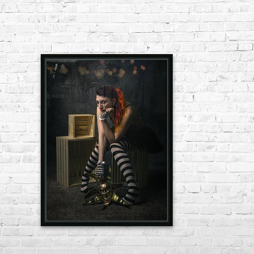 Le long temps HD Sublimation Metal print with Decorating Float Frame (BOX)