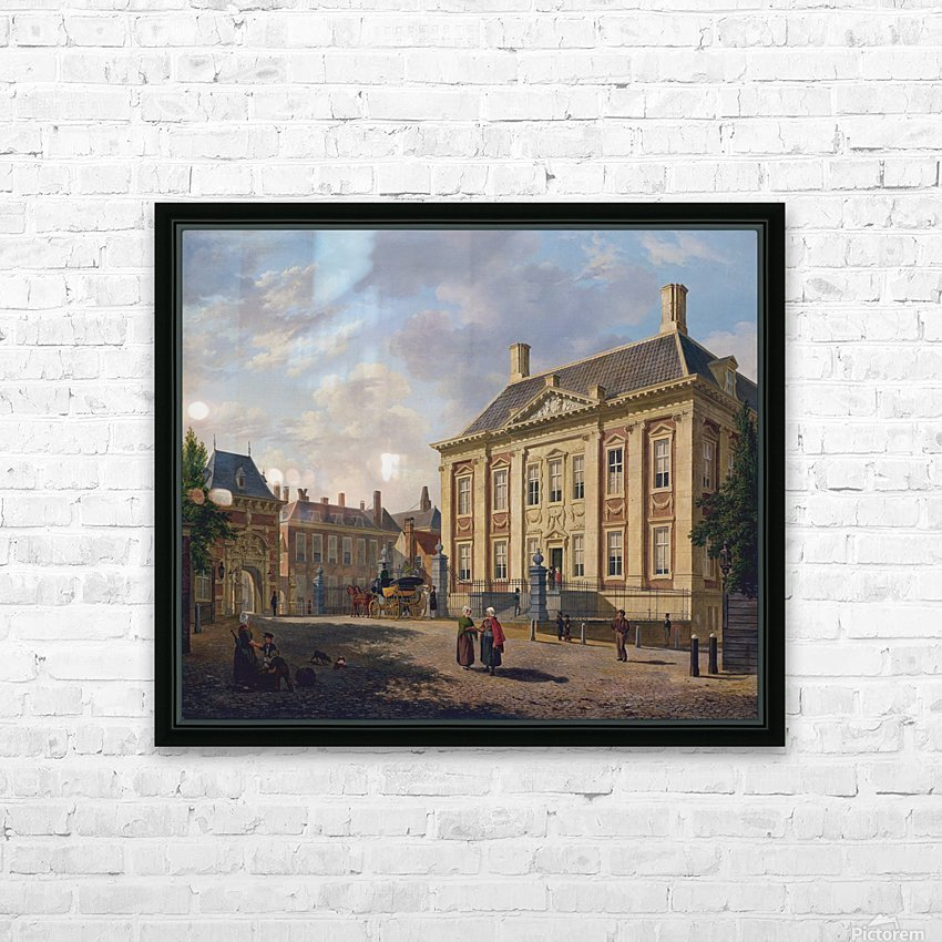 Het Mauritshuis te Den Haag HD Sublimation Metal print with Decorating Float Frame (BOX)