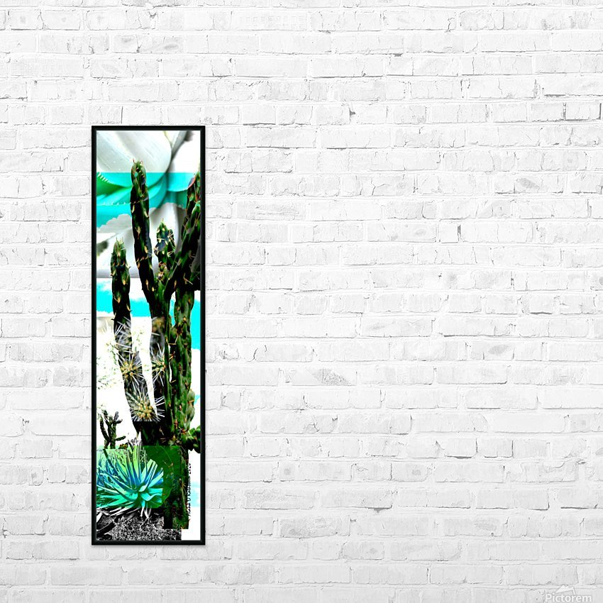 Cactus One HD Sublimation Metal print with Decorating Float Frame (BOX)