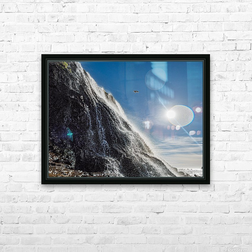 Alamere Falls HD Sublimation Metal print with Decorating Float Frame (BOX)