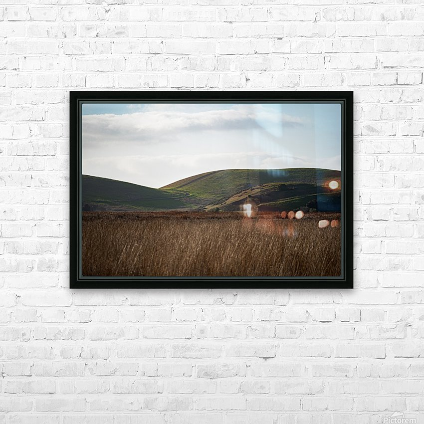 Coyote Hills During Sunset HD Sublimation Metal print with Decorating Float Frame (BOX)