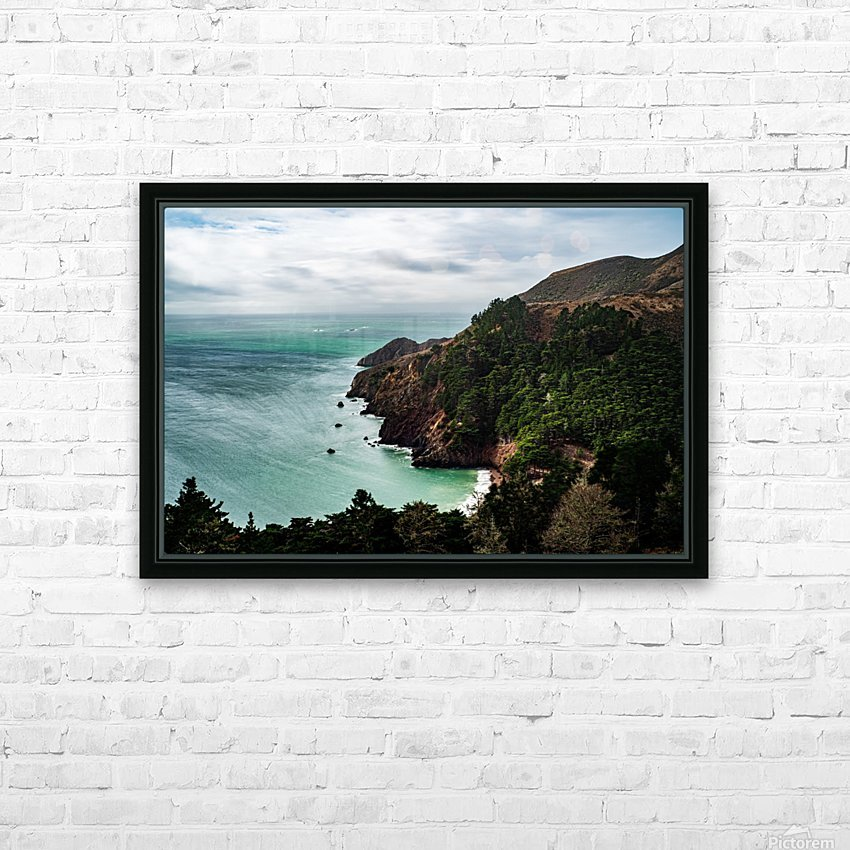 Kirby Cove HD Sublimation Metal print with Decorating Float Frame (BOX)