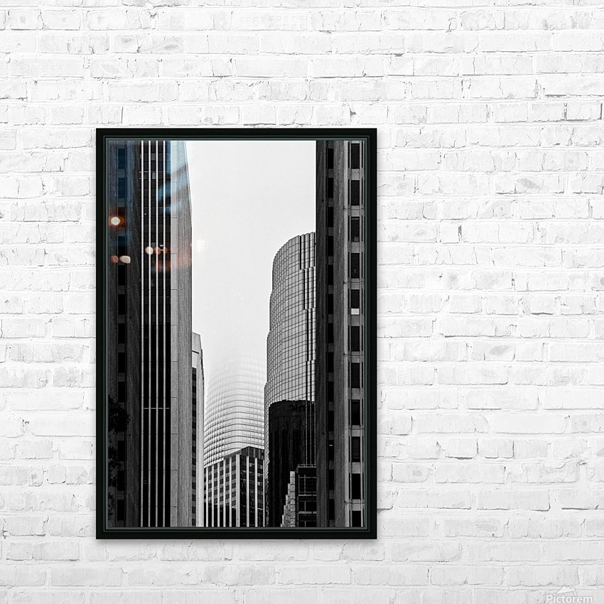 Vanishing Tower HD Sublimation Metal print with Decorating Float Frame (BOX)