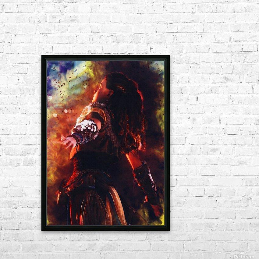 aloy   horizon zero dawn videogame HD Sublimation Metal print with Decorating Float Frame (BOX)