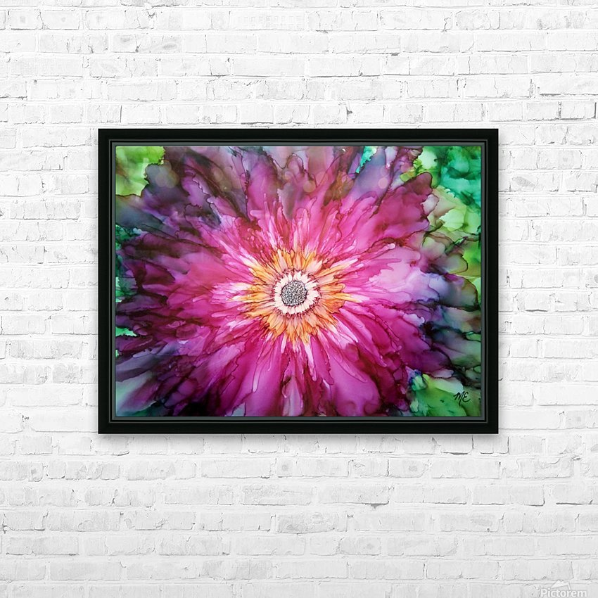 Forever Blooming HD Sublimation Metal print with Decorating Float Frame (BOX)