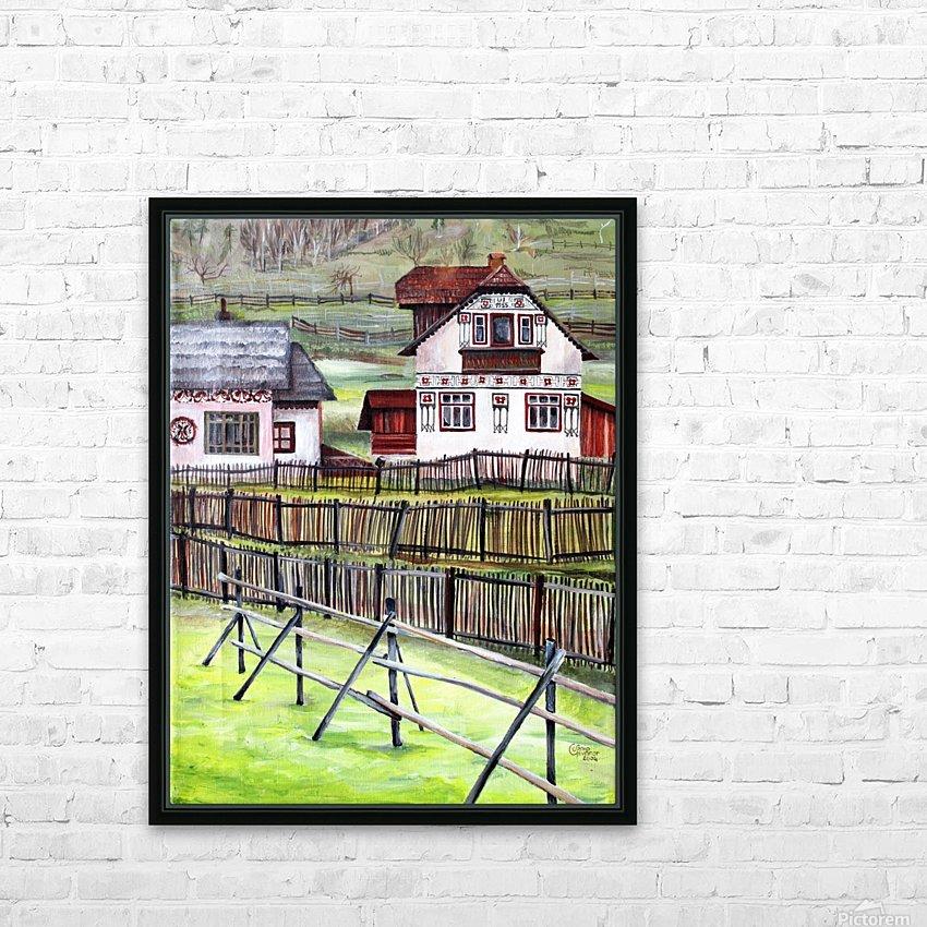 Landscape Transylvania Romania  HD Sublimation Metal print with Decorating Float Frame (BOX)