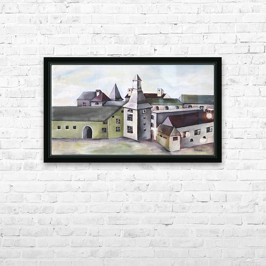 French Provenance Countryside HD Sublimation Metal print with Decorating Float Frame (BOX)