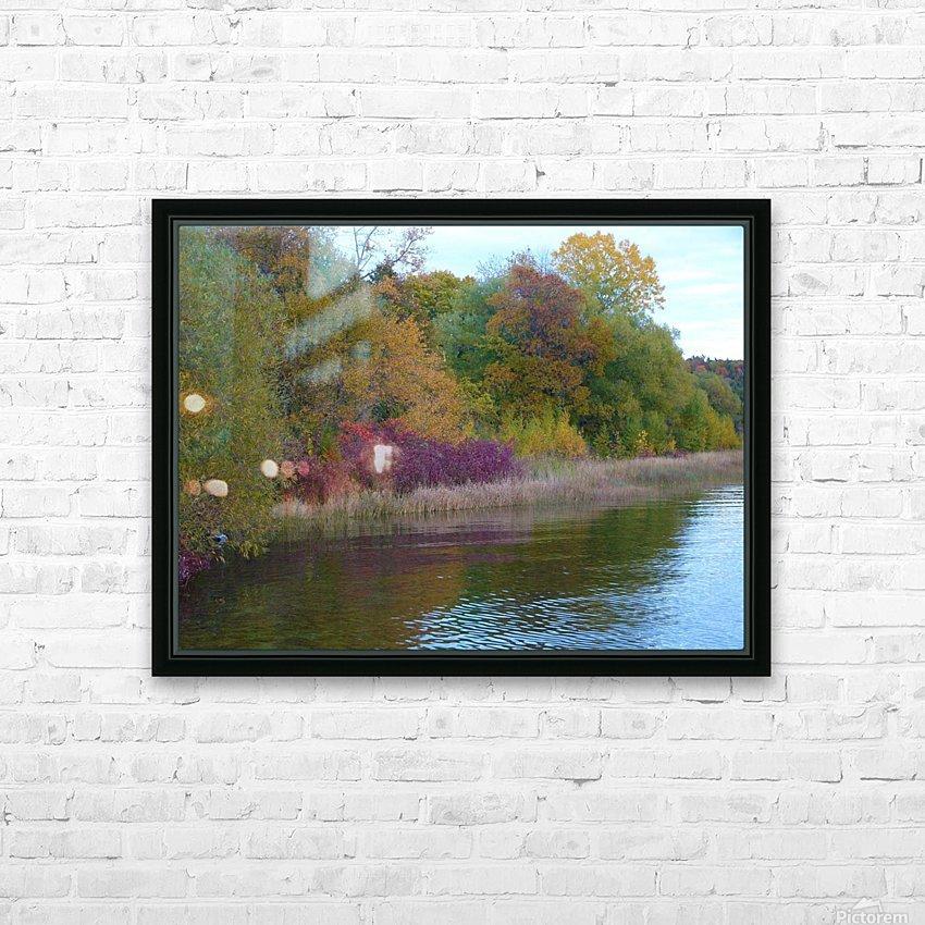 Gods Palette HD Sublimation Metal print with Decorating Float Frame (BOX)