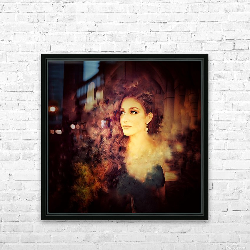 Countenance of Virtue HD Sublimation Metal print with Decorating Float Frame (BOX)