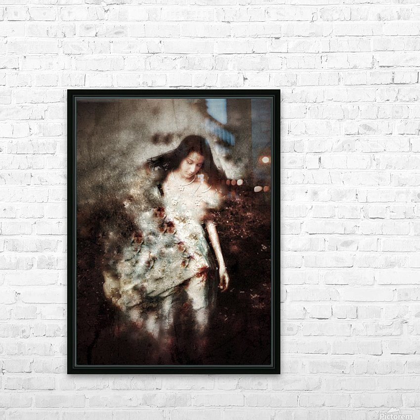 Clothed with Strength and Dignity HD Sublimation Metal print with Decorating Float Frame (BOX)