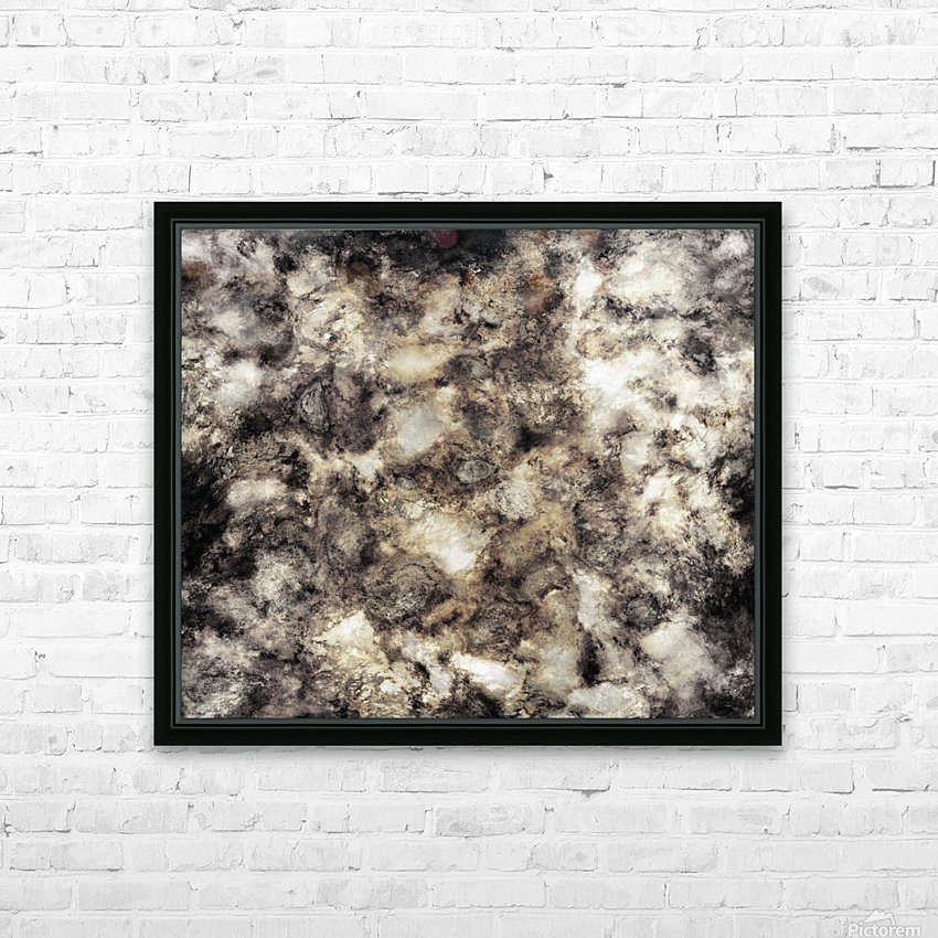 Smoke and mirrors HD Sublimation Metal print with Decorating Float Frame (BOX)