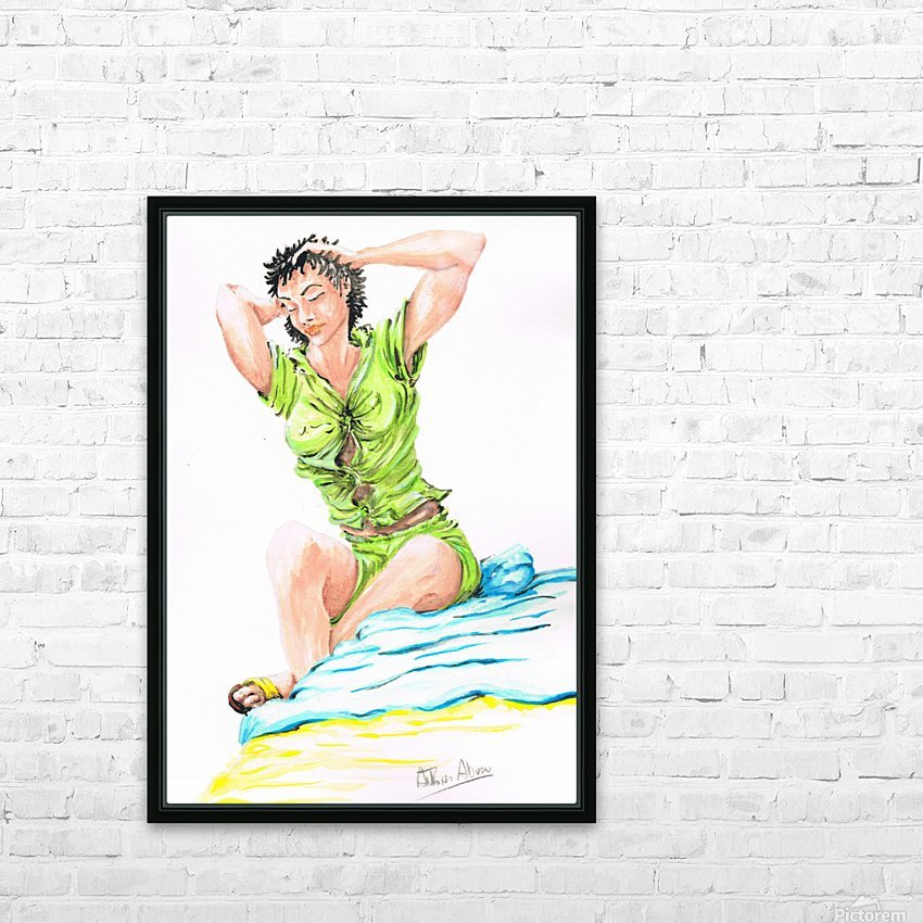ELEONORA - Acrylic HD Sublimation Metal print with Decorating Float Frame (BOX)