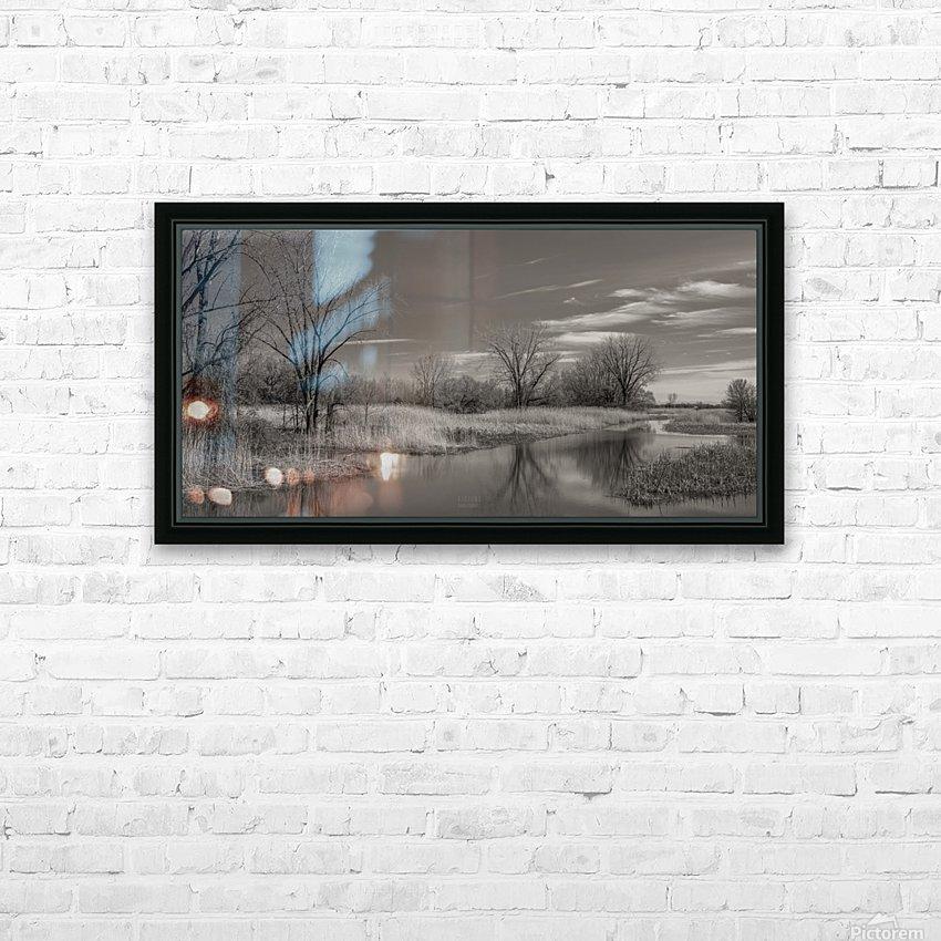 Varennes HD Sublimation Metal print with Decorating Float Frame (BOX)