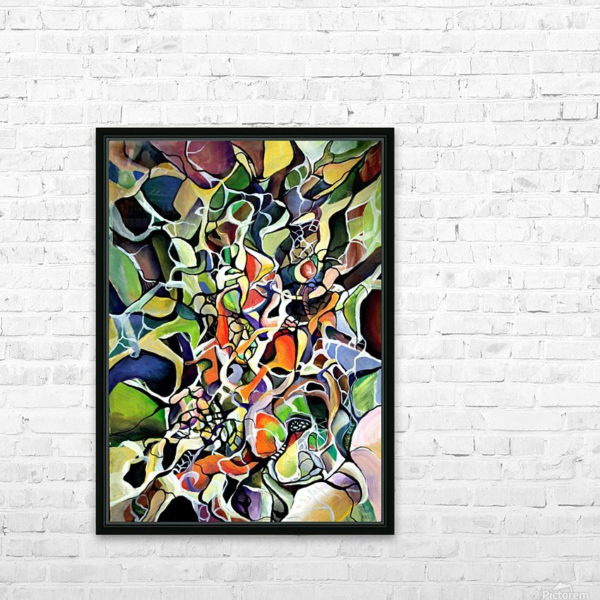 Subconsciousness Toughts in Maximalism Contemporary HD Sublimation Metal print with Decorating Float Frame (BOX)