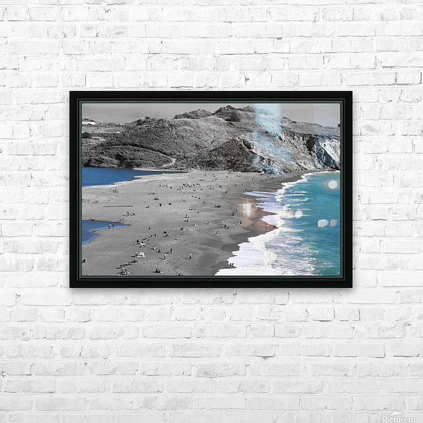 2 Bodies 1 Beach HD Sublimation Metal print with Decorating Float Frame (BOX)