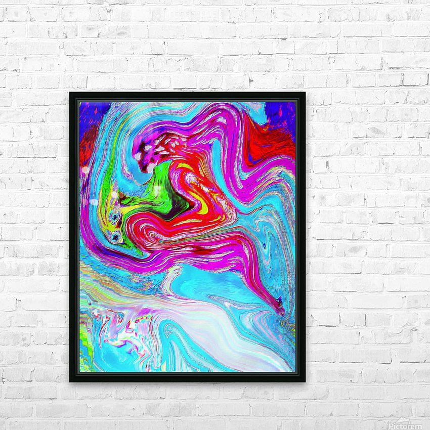 Ethereal Pleasures HD Sublimation Metal print with Decorating Float Frame (BOX)