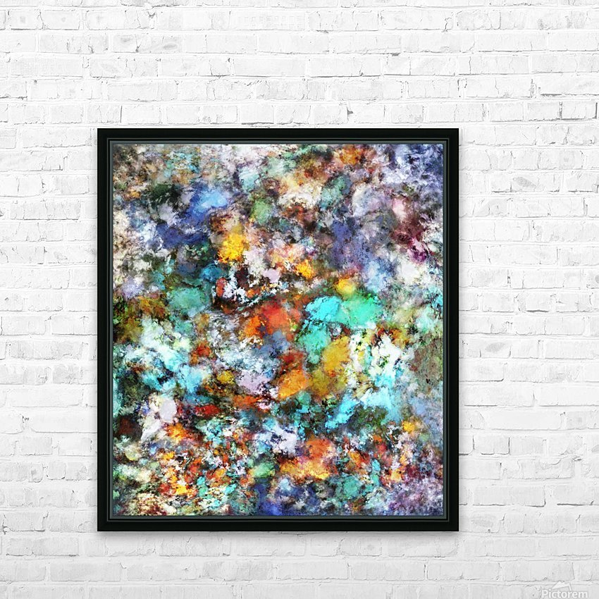 Suspension HD Sublimation Metal print with Decorating Float Frame (BOX)