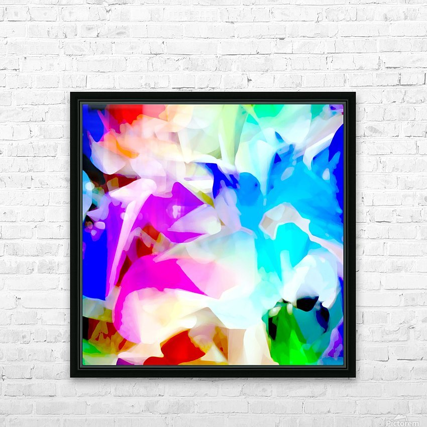 Taking Flight HD Sublimation Metal print with Decorating Float Frame (BOX)