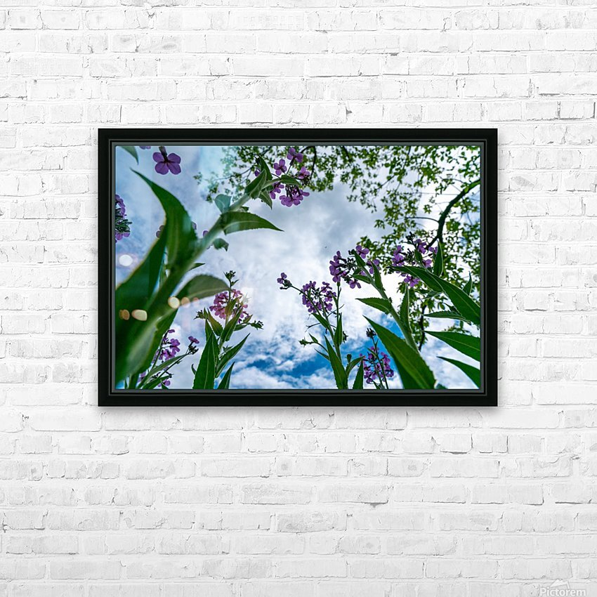 Skyward 2 HD Sublimation Metal print with Decorating Float Frame (BOX)