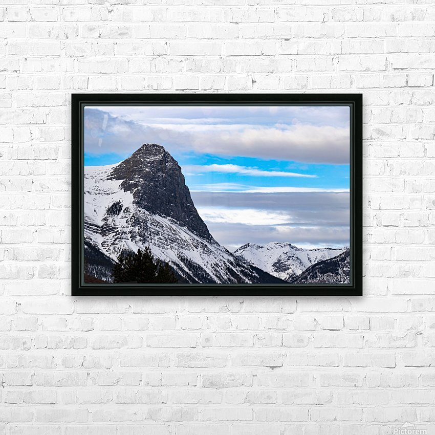 Ha Ling Mountain  HD Sublimation Metal print with Decorating Float Frame (BOX)