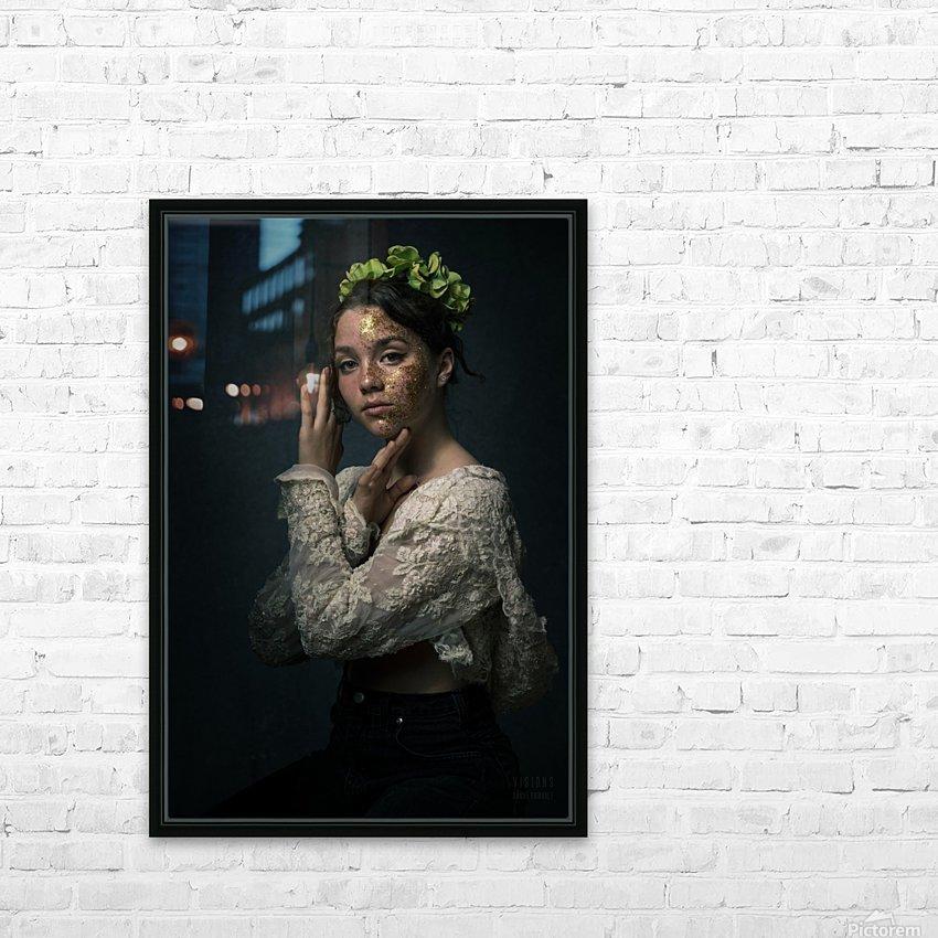 Chloe au printemps HD Sublimation Metal print with Decorating Float Frame (BOX)