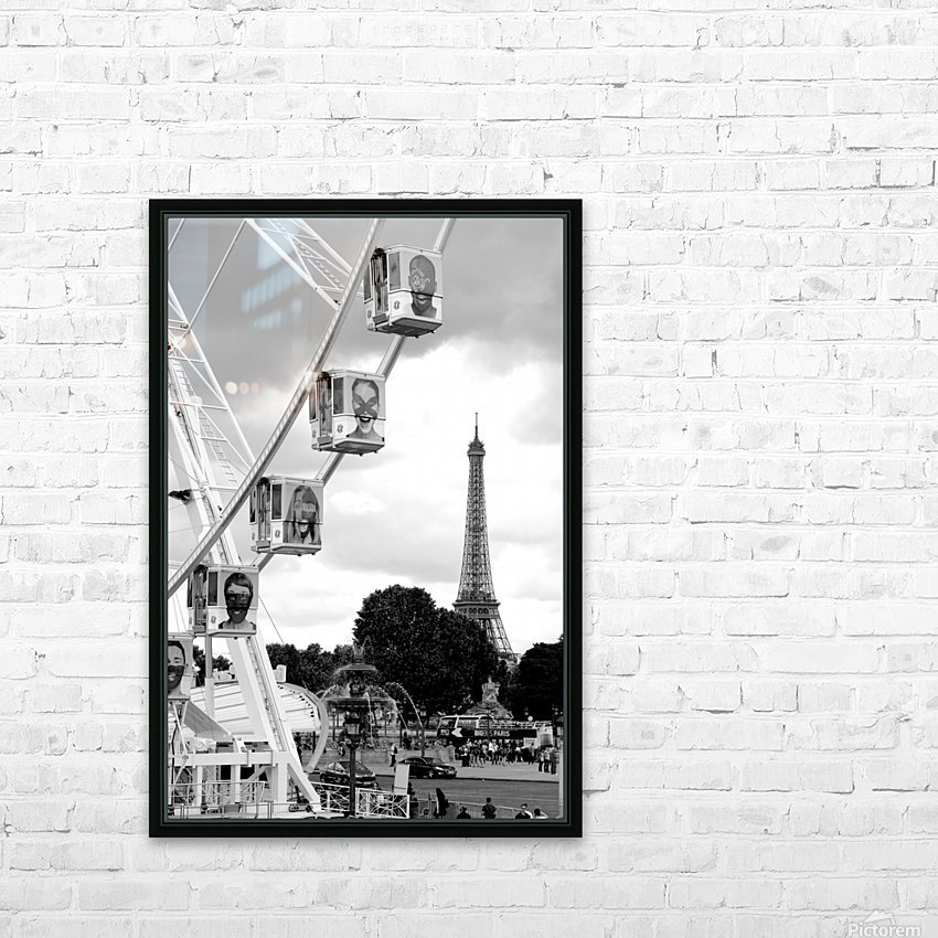 La grande roue HD Sublimation Metal print with Decorating Float Frame (BOX)