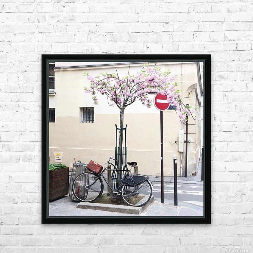 Le Printemps est partout HD Sublimation Metal print with Decorating Float Frame (BOX)