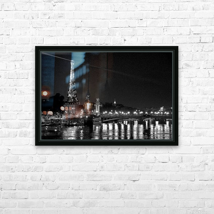 Illumination of the Iron Lady HD Sublimation Metal print with Decorating Float Frame (BOX)