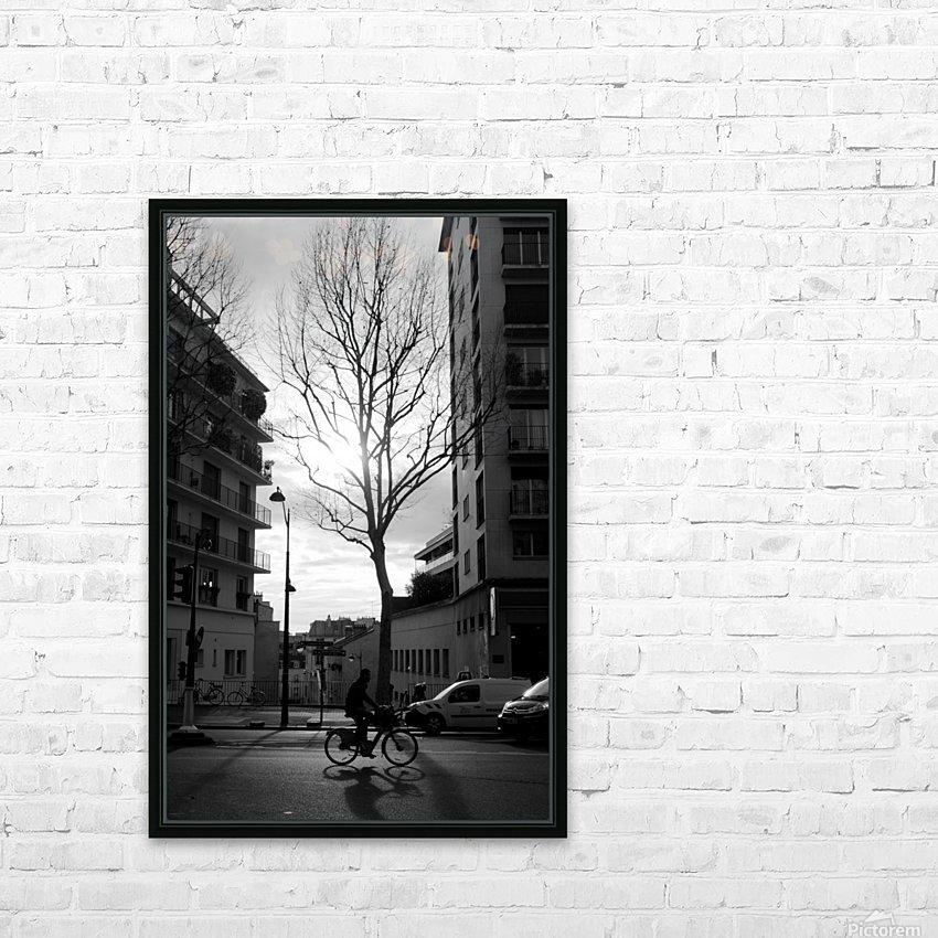 Un Velo dans Belleville HD Sublimation Metal print with Decorating Float Frame (BOX)