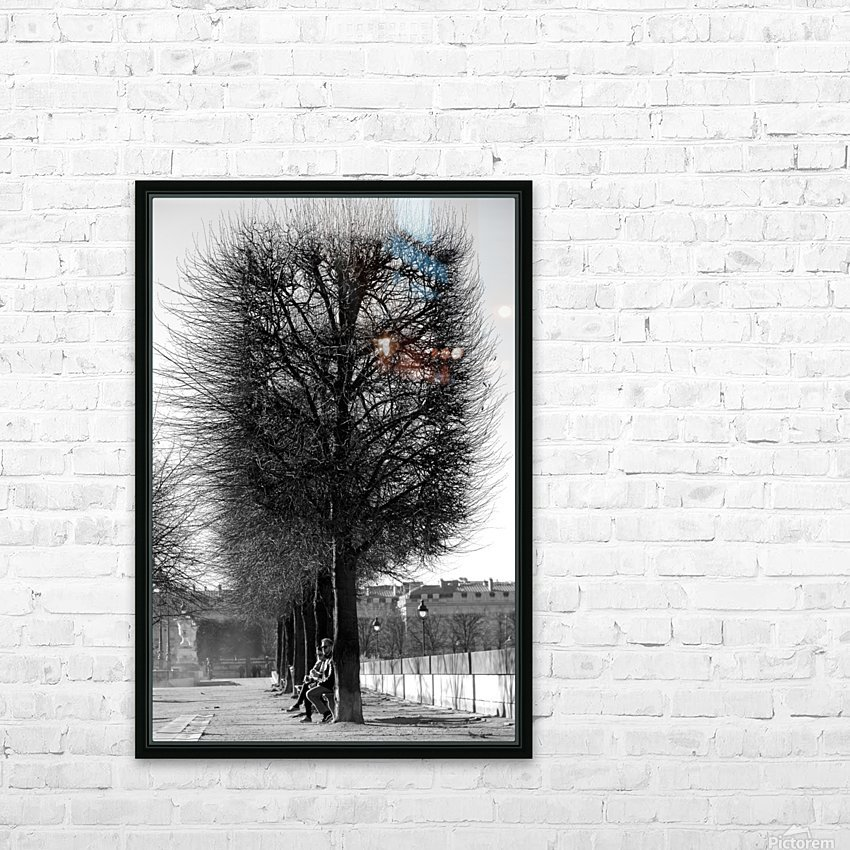 A Winters Day HD Sublimation Metal print with Decorating Float Frame (BOX)