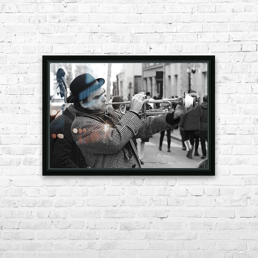 Musique rue des Francs Bourgeois HD Sublimation Metal print with Decorating Float Frame (BOX)