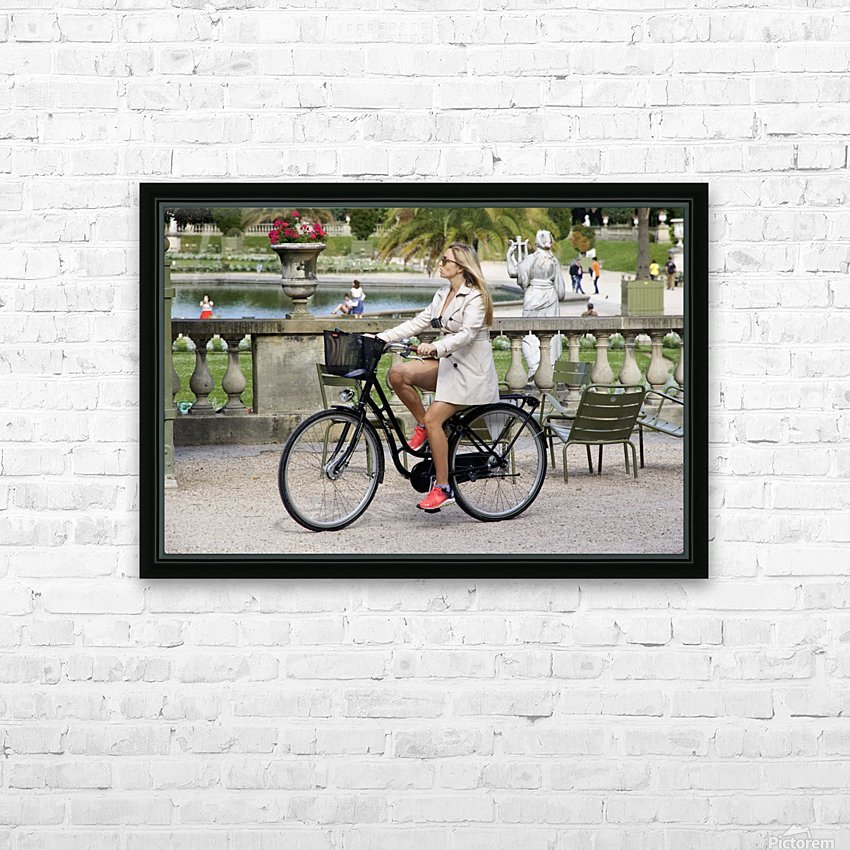 Elegance in Jardin de Luxembourg HD Sublimation Metal print with Decorating Float Frame (BOX)