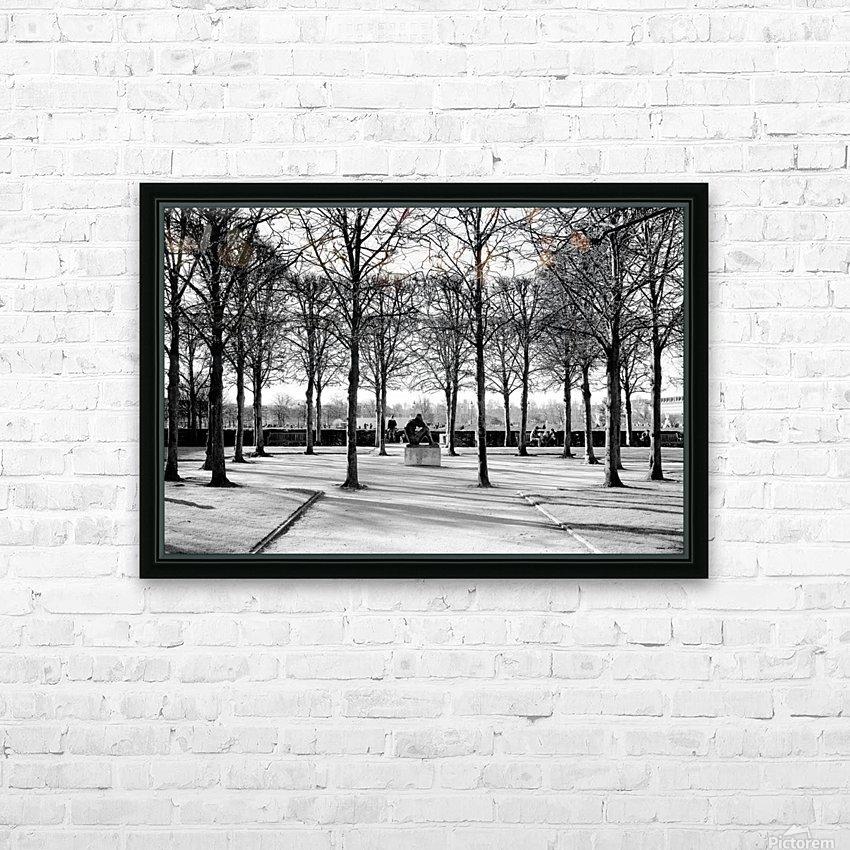 Reflection de la Nuit HD Sublimation Metal print with Decorating Float Frame (BOX)