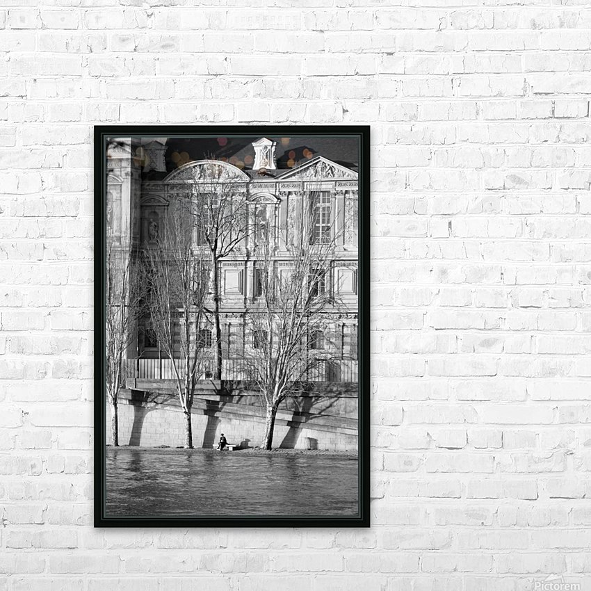 Couche du Soleil Louvre HD Sublimation Metal print with Decorating Float Frame (BOX)