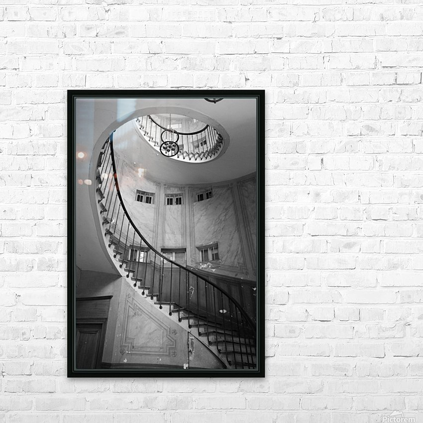 Escalier Monumental HD Sublimation Metal print with Decorating Float Frame (BOX)