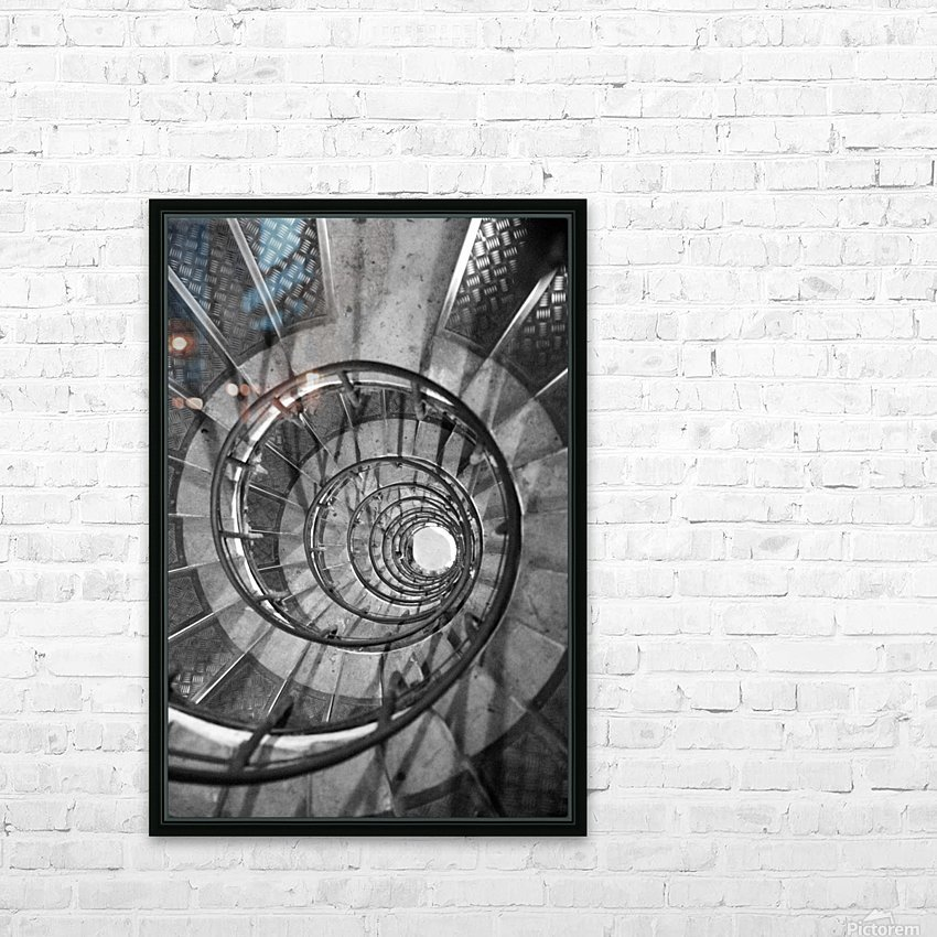 Escargot HD Sublimation Metal print with Decorating Float Frame (BOX)