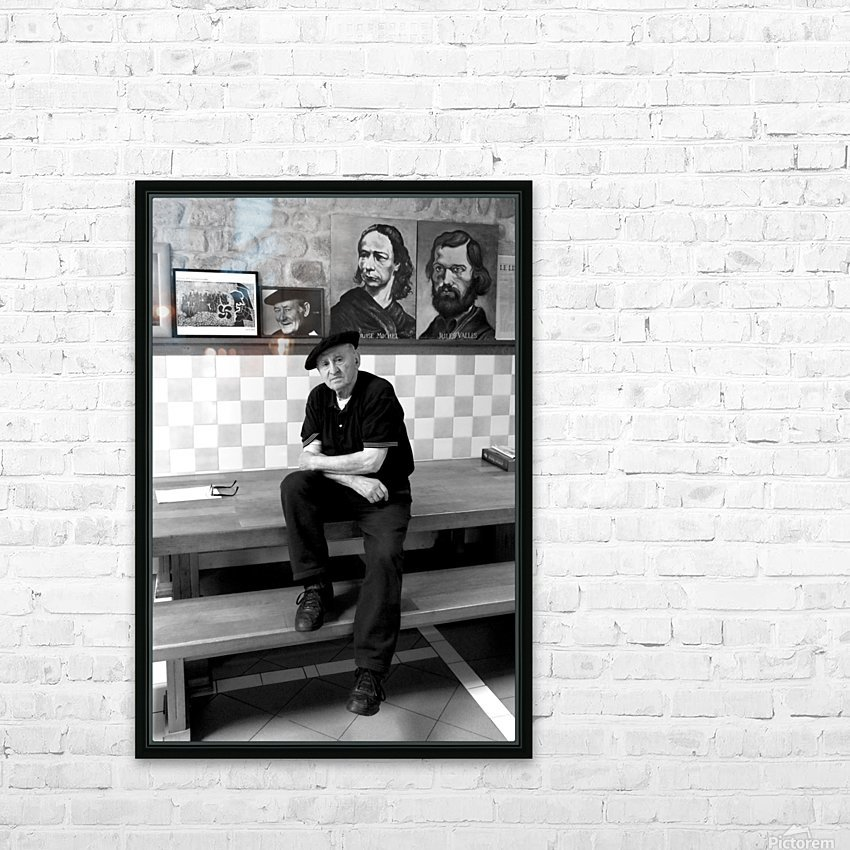 Lucio Uturbia   Anarchist HD Sublimation Metal print with Decorating Float Frame (BOX)