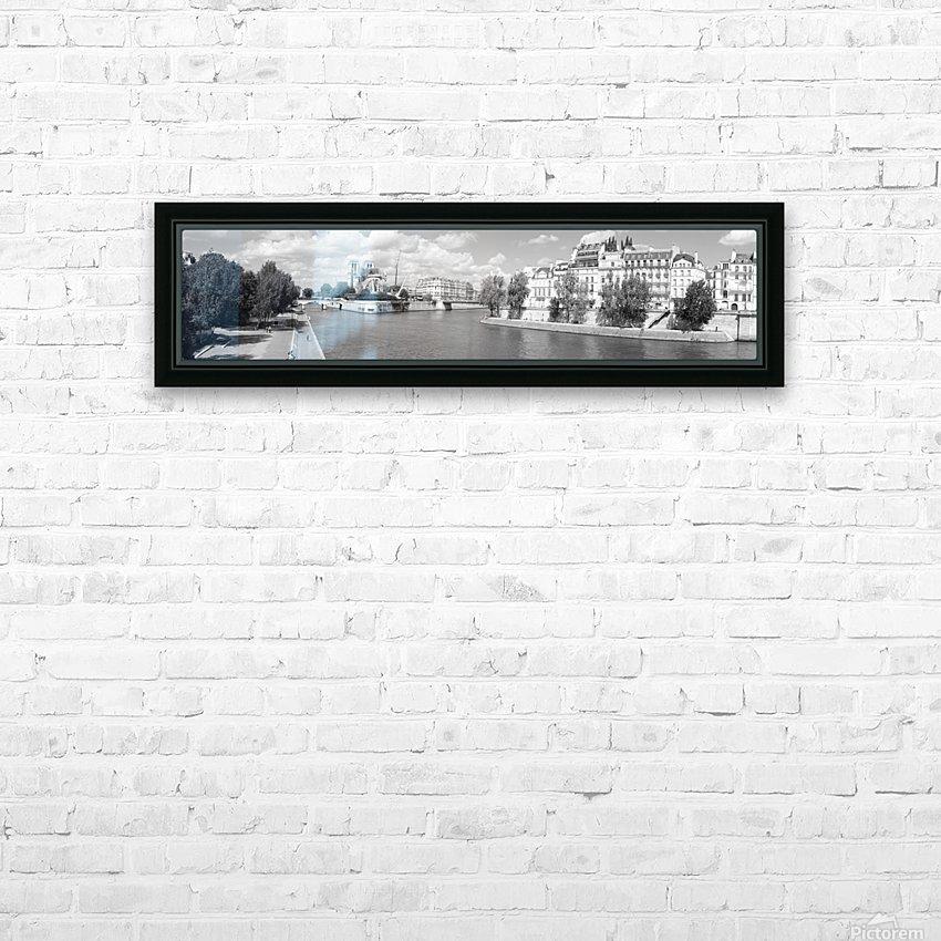 Ile de la Cite HD Sublimation Metal print with Decorating Float Frame (BOX)