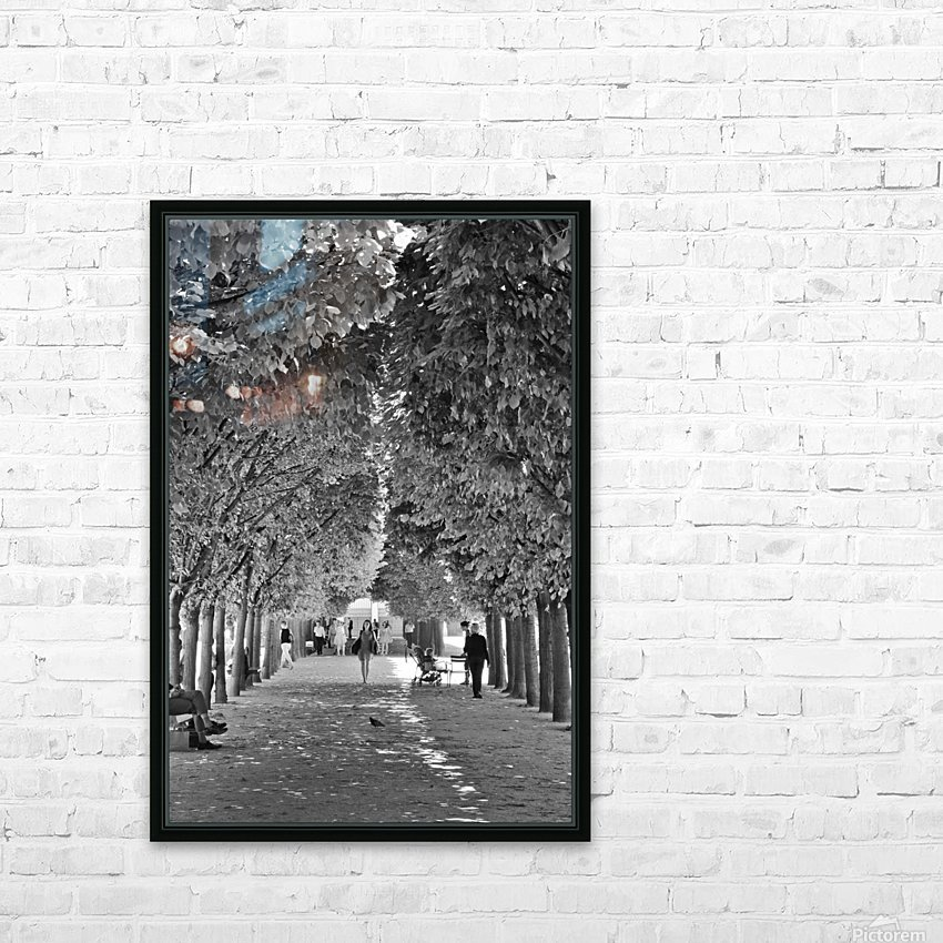 Arbre dalignement HD Sublimation Metal print with Decorating Float Frame (BOX)